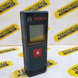 Измерительные инструменты и приборы - Лазерный дальномер Bosch GLM 20 (ка-73549), 0
