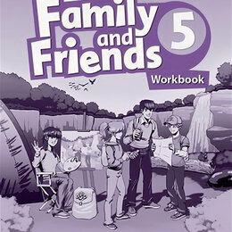 Обучающие плакаты - Family and Friends Second Edition 5 Workbook, 0