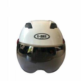 Спортивная защита - Шлем универсальный E-bike Helmet (Белый), 0