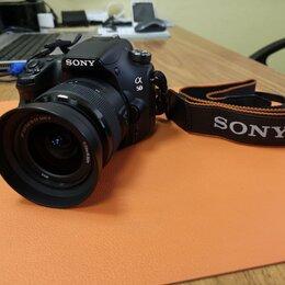 Фотоаппараты - Зеркальная камера Sony Alpha SLT-A58K, 0
