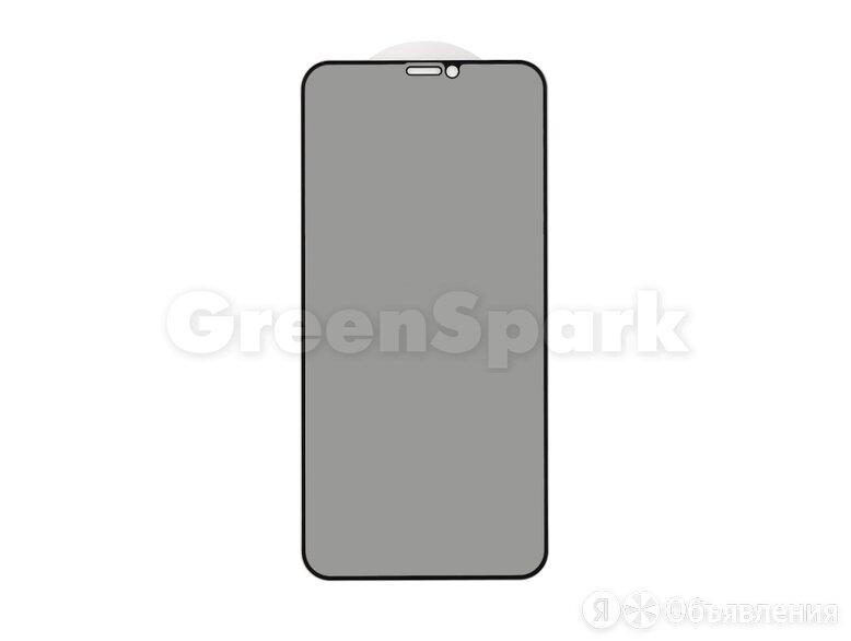 Защитное стекло 3D PRIVACY для iPhone X/XS/11 Pro (черный) (VIXION) по цене 300₽ - Защитные пленки и стекла, фото 0