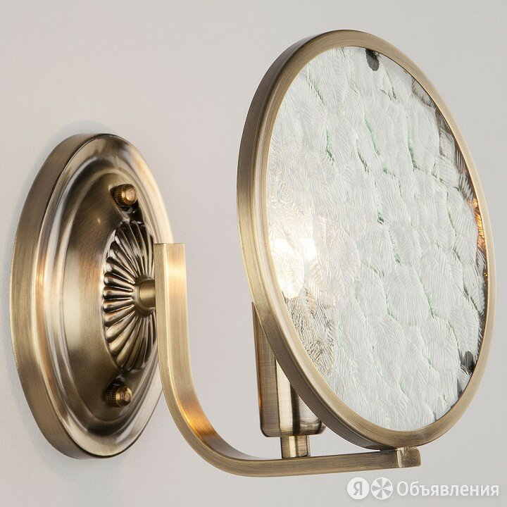 Бра Eurosvet Cyrus 60073/1 античная бронза по цене 3810₽ - Бра и настенные светильники, фото 0