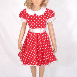 Платья - Платье для танцев красное Горох  МХ-КС122.2, 0