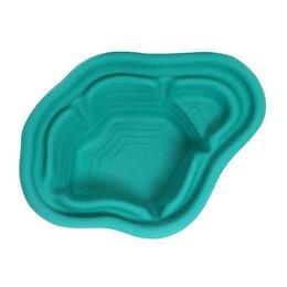 Готовые пруды и чаши - Пруд садовый пластиковый, 190 л, зелёный, 0