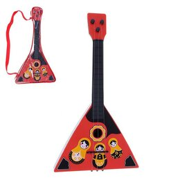 Щипковые инструменты - Балалайка 'Матрёшка', цвета МИКС, 0