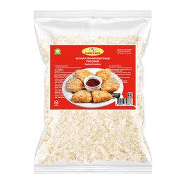 Продукты - Сухари панировочные рисовые без глютена Serena, 1000 г, 0