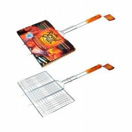 Решетки - Решетка-гриль универсальная 6 секций 34х22см Royal Grill (80-021), 0