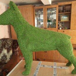 Садовые фигуры и цветочницы - Фигуры топиари собаки, 0
