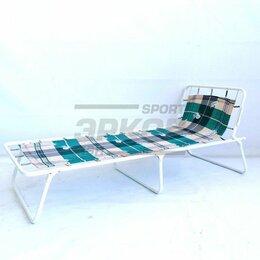 Раскладушки - Кровать раскладная Промбытском Юниор жёсткая дет разм 152х62х25 см до 60 кг, 0