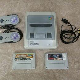 Ретро-консоли и электронные игры - Приставка Super Nintendo PAL NTSC (Multi region), 0