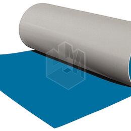 Кровля и водосток - Гладкий плоский лист рулонной стали RAL5015 Небесно-Голубой ш1.25 т0.45мм, 0