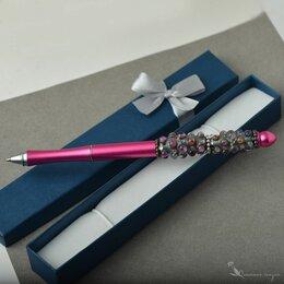 Канцелярские принадлежности - Подарочная шариковая ручка Розовая яркая, 0