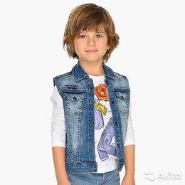 Жилеты - Жилет джинсовый Mayoral, 5 лет, 0