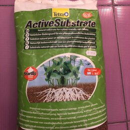 Грунты для аквариумов и террариумов - Грунт tetra натуральный для водных растений tetra activesubstrate 6 l, 0