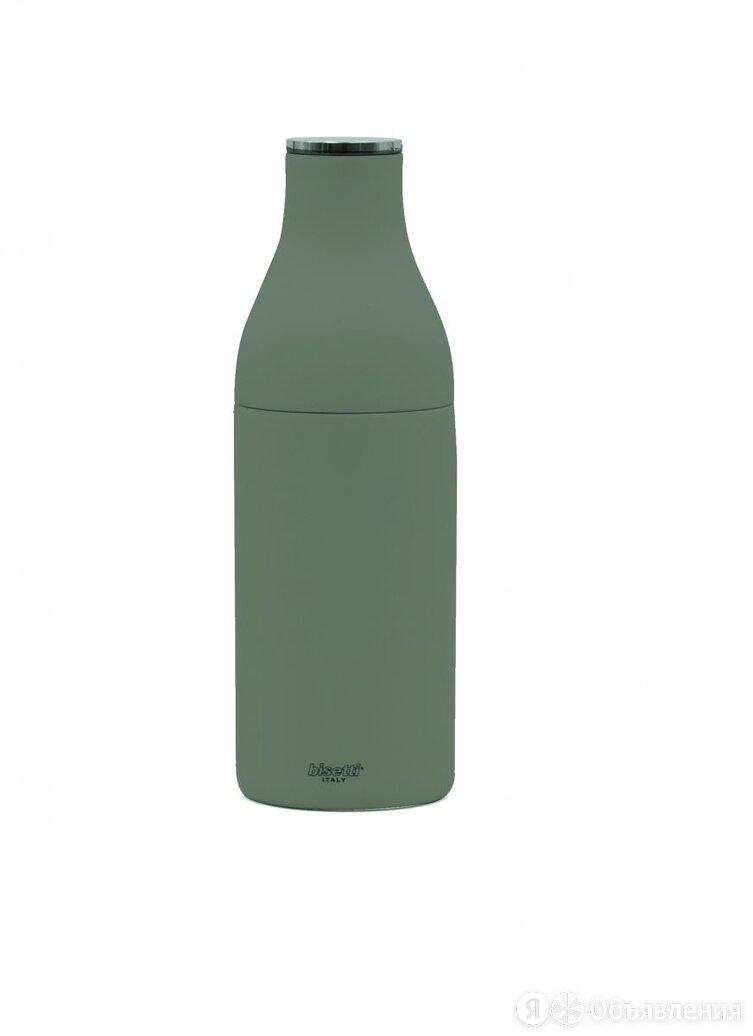Мельница для специй «бутылка молока» h 22 см, бук, цвет серый, MILK BOTTLE по цене 4094₽ - Подставки и держатели, фото 0