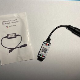Светодиодные ленты - Bluetooth RGB 5-24V управление со смартфона, 0