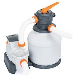 Фильтры, насосы и хлоргенераторы - Фильтр-насос для бассейнов песочный 220-240V, 8327 л/ч, 58499 Bestway, 0