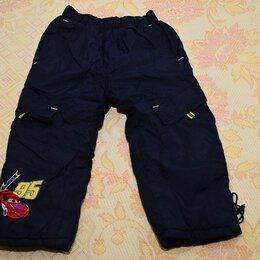 Полукомбинезоны и брюки - Зимние мембранные штаны для мальчиков на флисе, 0