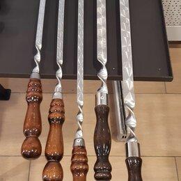 Шампуры - Шампура с деревянной ручкой в Новокузнецке , 0