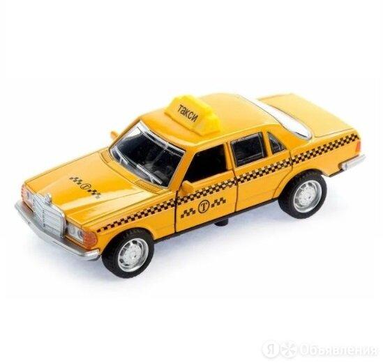 Машинка такси, звук, свет по цене 325₽ - Велосипеды, фото 0