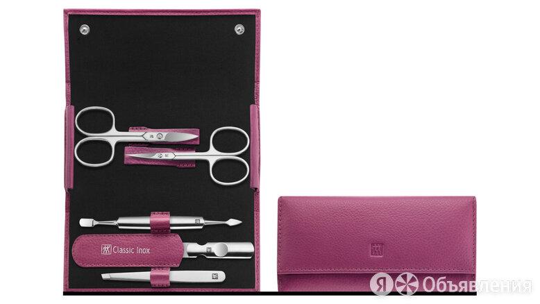 Маникюрный набор 5 пр. INOX розовый по цене 11150₽ - Инструменты, фото 0