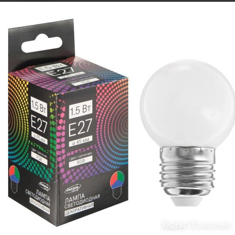 Лампа светодиодная Luazon Lighting по цене 100₽ - Лампочки, фото 0