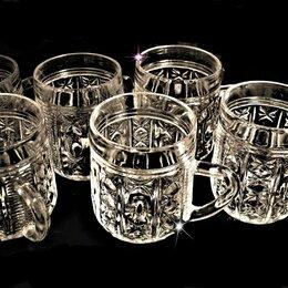Бокалы и стаканы - Кружки хрустальные для пунша, 0