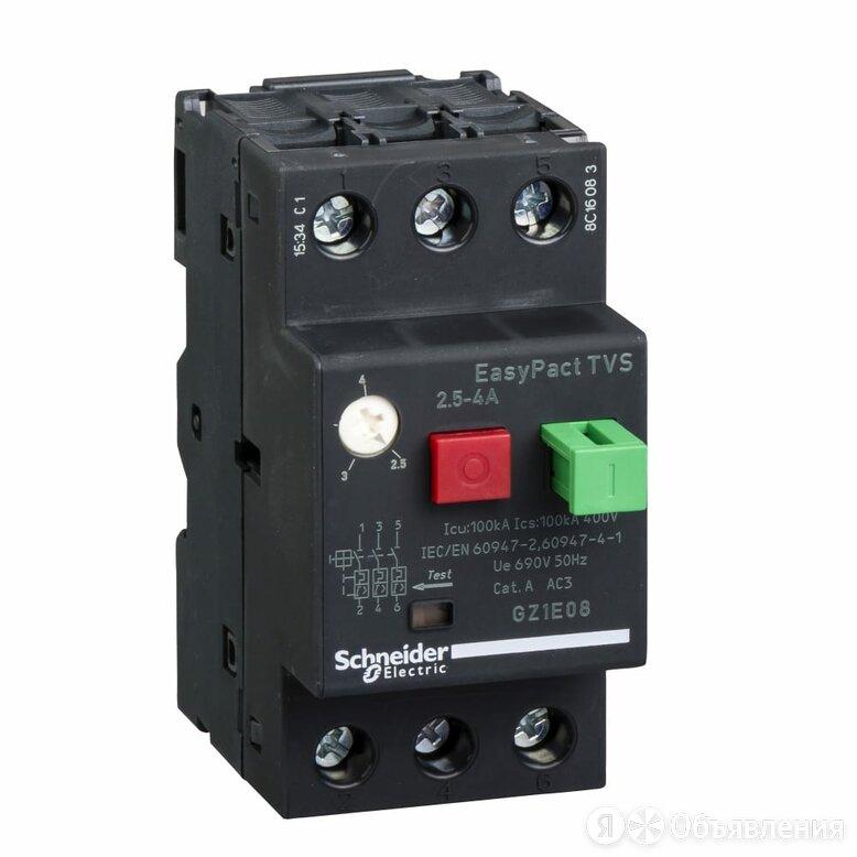 Автоматический выключатель Schneider Electric GZ1E08 по цене 2375₽ - Электрические щиты и комплектующие, фото 0