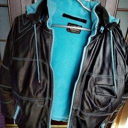 Куртки и пуховики - Куртка из натуральной кожи для мальчика. , 0