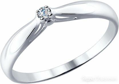 Помолвочное кольцо SOKOLOV 87010002_s_18-5 по цене 2480₽ - Кольца и перстни, фото 0