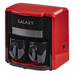 Кофеварки и кофемашины - Кофеварка электрическая GALAXY GL0708 (красная), 0