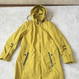 Куртки - Желтая парка батик, 0