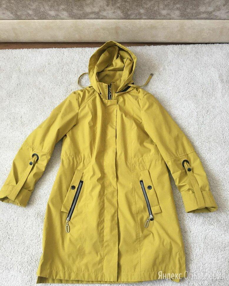 Желтая парка батик по цене 1500₽ - Куртки, фото 0