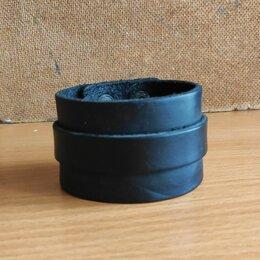 Браслеты - Кожаный браслет напульсник, 0
