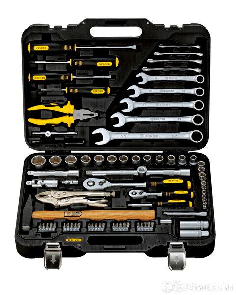 Универсальный набор инструментов 78 предметов BERGER BG078-1214 по цене 10497₽ - Наборы инструментов и оснастки, фото 0