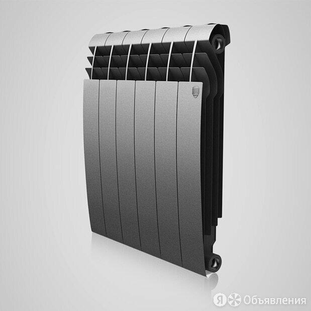 Радиатор биметаллический Royal Thermo Biliner 500 x6 Silver Satin по цене 5250₽ - Радиаторы, фото 0