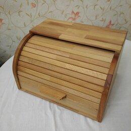 Хлебницы и корзины для хлеба - Хлебница бук 34x28x19см большая, 0
