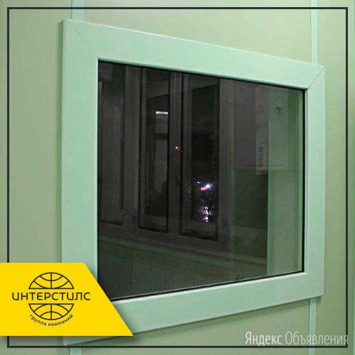 Окно рентгенозащитное 870х470х70 мм 2,5 Pb по цене 93000₽ - Готовые конструкции, фото 0