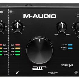 Оборудование для звукозаписывающих студий - M-Audio AIR 192 | 4 USB аудио интерфейс, 0