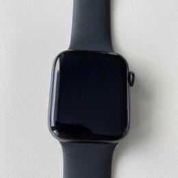 Умные часы и браслеты - Apple watch SE 44mm оригинал, 0