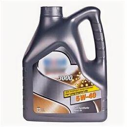 Масла, технические жидкости и химия - Масла моторные Mobil Моторное масло Mobil Super 3000 X1 SAE 5W-40 (4л), 0