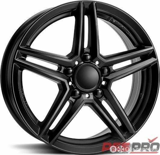 Колесный диск Rial Rial M10 6,5x16 5x112 ET 38 Dia 66,5 (racing black) по цене 8450₽ - Шины, диски и комплектующие, фото 0