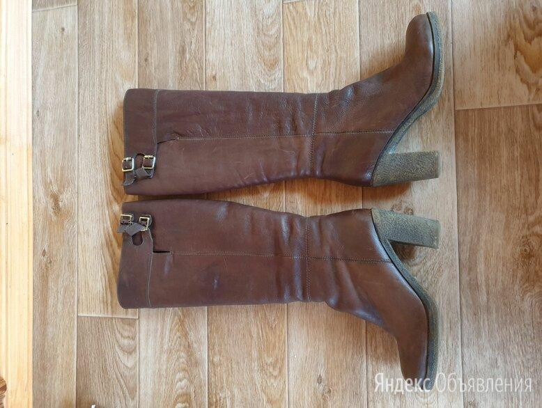 Сапоги кожаные Эконика 37р. по цене 3000₽ - Сапоги, фото 0