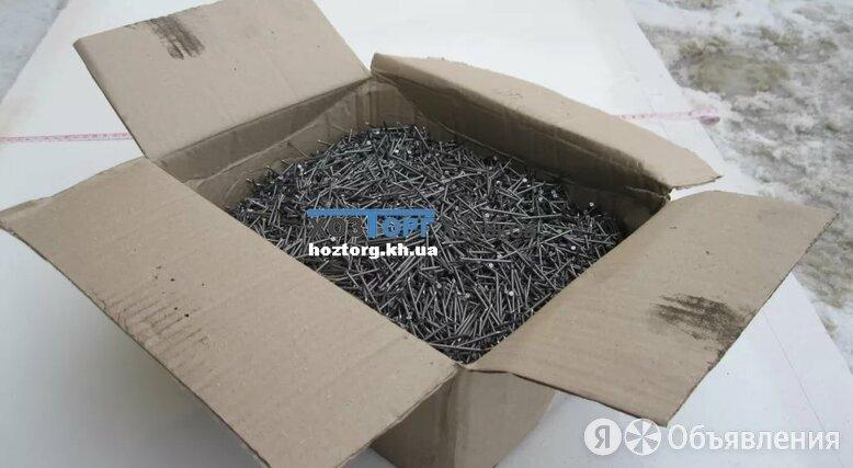Евраз Гвоздь строительный  6х200  (уп. 25 кг.) по цене 2516₽ - Гвозди, фото 0