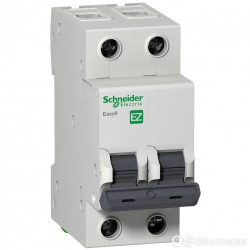 Автоматический выключатель Schneider Electric EASY 9 2П 10А С 4,5кА 230В EZ9F... по цене 454₽ - Электрические щиты и комплектующие, фото 0