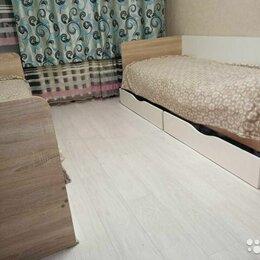 Кровати - Кровать с 2мя выдвижными ящиками, 0