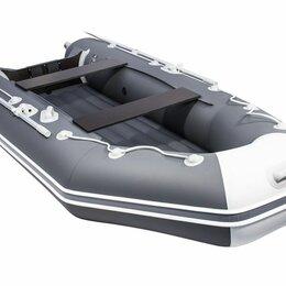 Надувные, разборные и гребные суда - Лодка аква 3200 нднд графит/светло-серый , 0