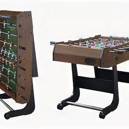 Игровые столы - Настольный футбол (кикер) Maccabi mini (121x61x81) венге), 0