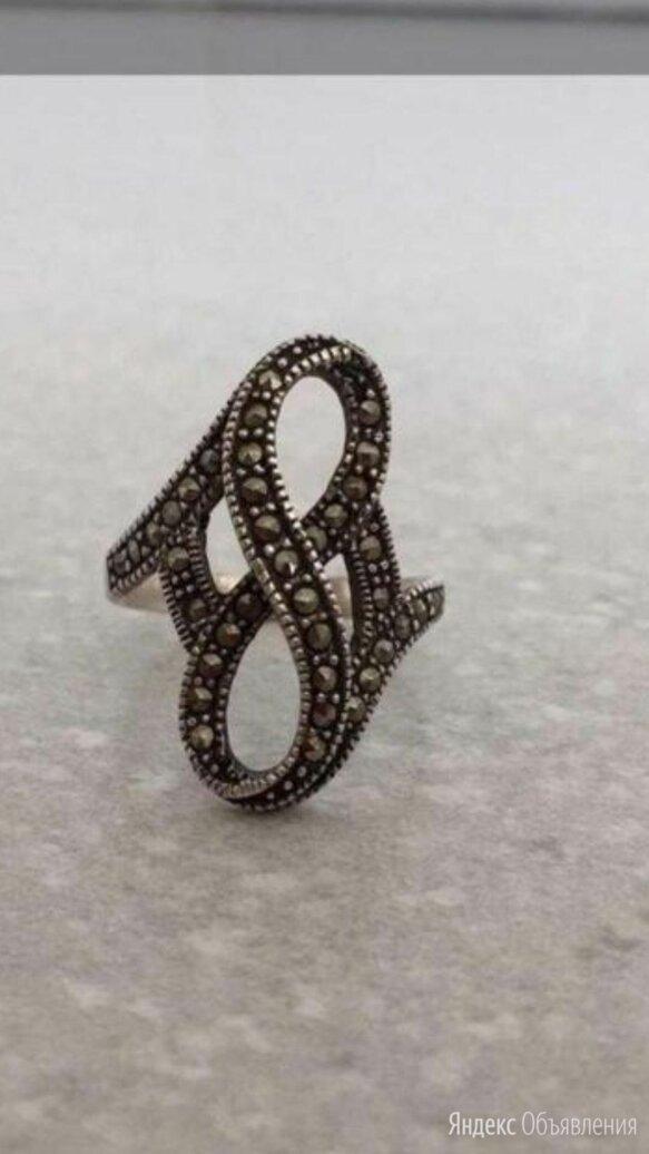 Кольцо с марказитом из серебра по цене 3500₽ - Кольца и перстни, фото 0