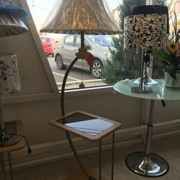 Торшеры и напольные светильники - Торшер  напольный со столиком, 0